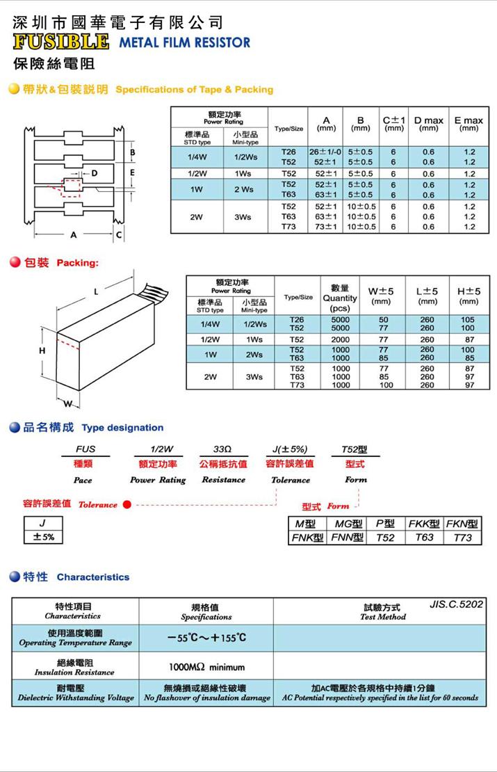 保险丝电阻-3
